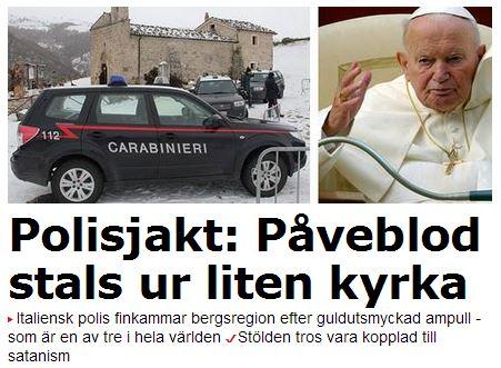 påveblod